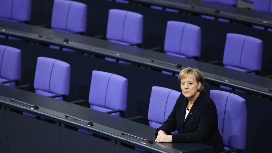 Merkel auf der Regierungsbank (im Oktober 2009): Neue Kollegen für die Kanzlerin?