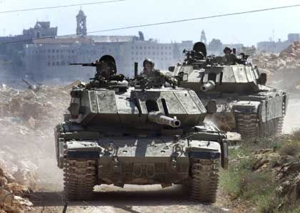 Keine Ersatzteile für israelische Panzer aus Europa