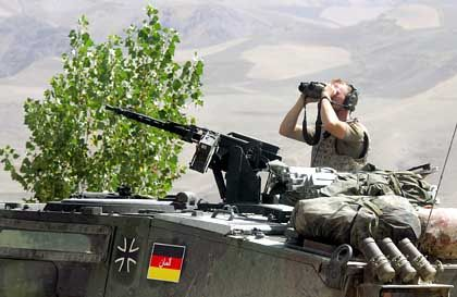 Bundeswehr-Soldat in Afghanistan: Neue Anschlagsgefahr?