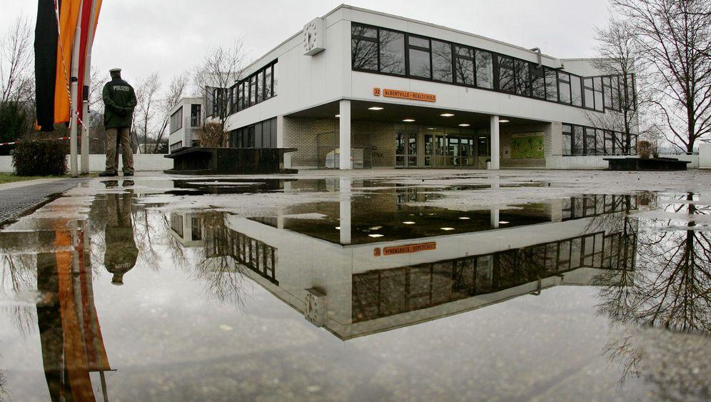 """Amoklauf von Winnenden: """"Wir haben uns übereinandergelegt"""""""