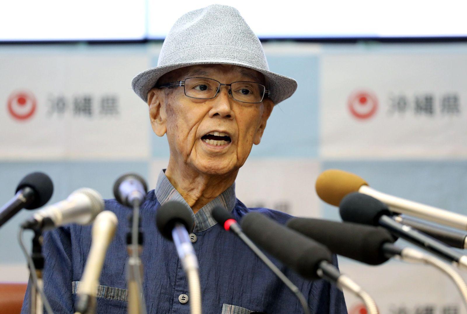 Japan/Okinawa/Takeshi Onaga