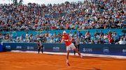Djokovic lädt zum Tennisturnier, 4000 Zuschauer kamen