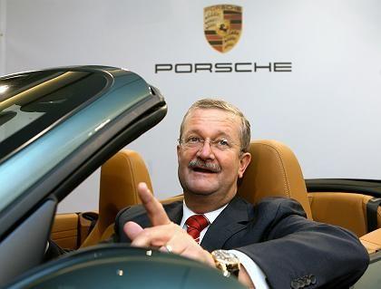"""Porsche-Chef Wiedeking: """"Kleiner Hersteller aus Zuffenhausen hat die Mehrheit übernommen"""""""