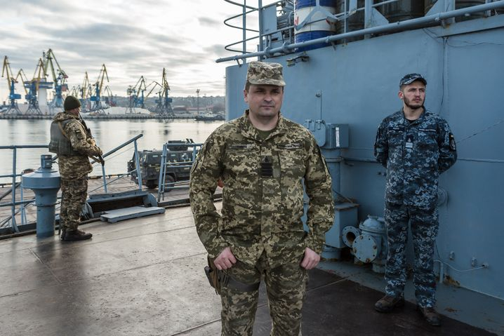 "Ukrainian Captain Timanov: ""Now, ships are on their way from the Caspian Sea."""