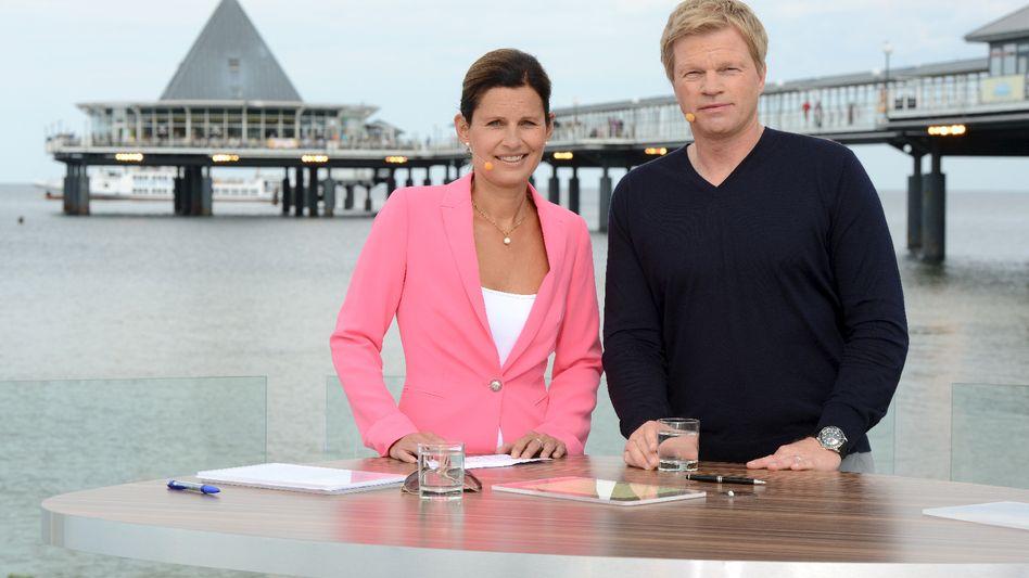 Katrin Müller-Hohenstein und Oliver Kahn: Die Usedomina lädt ein
