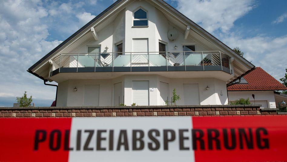 Haus des ermordeten Kassler Regierungspräsidenten Walter Lübcke (Archivbild)
