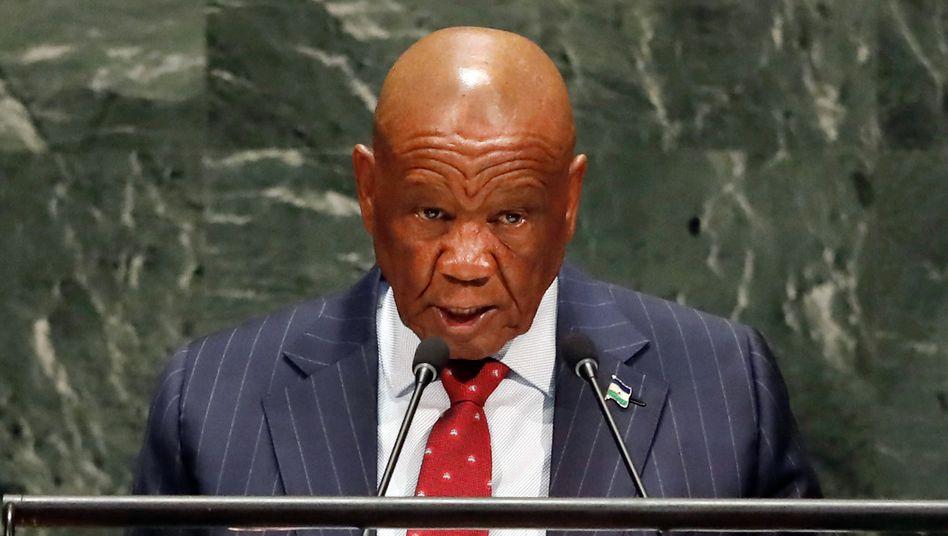 Lesotho: Premierminister muss sich für Mord an seiner Frau verantworten