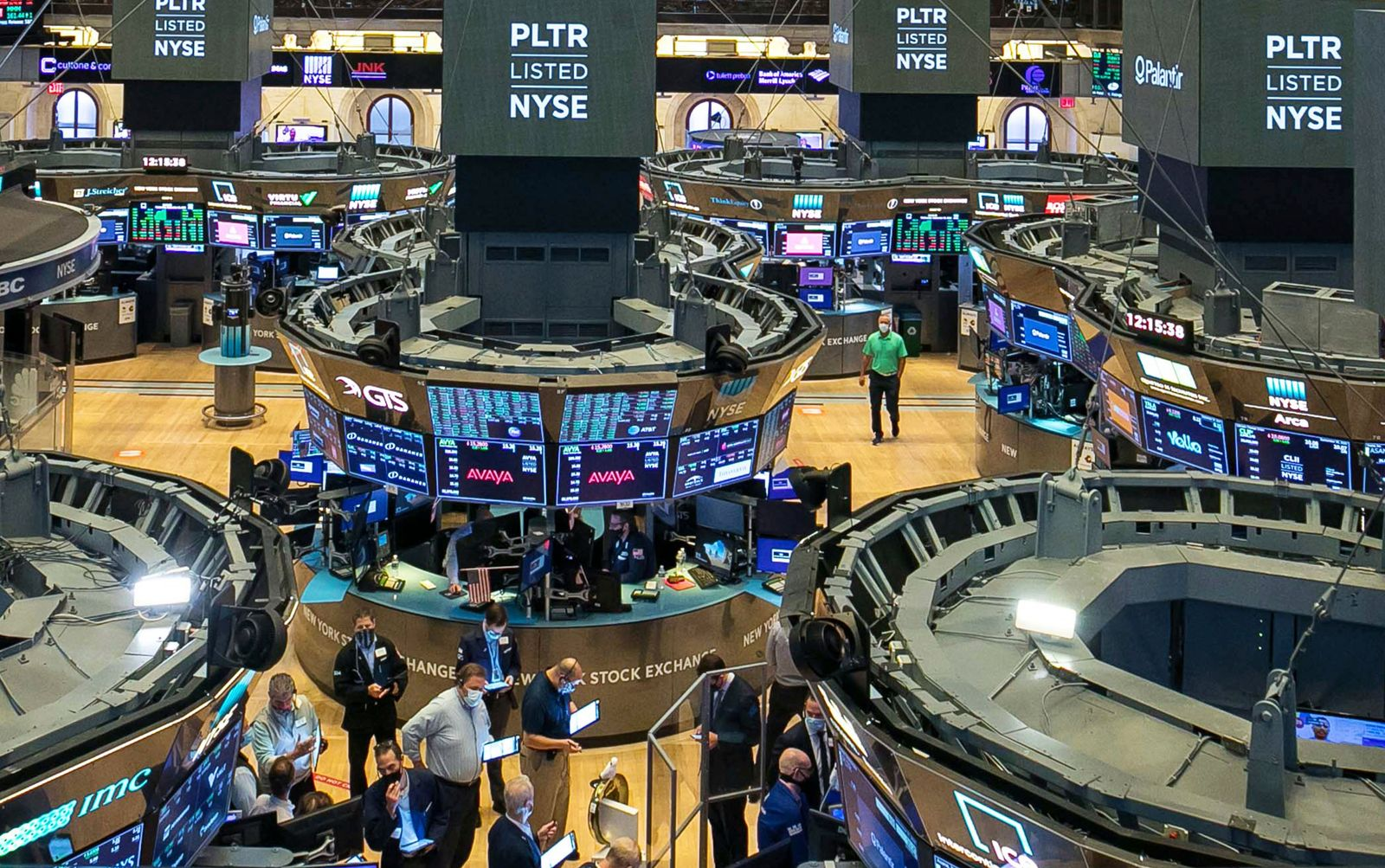 Financial Markets Wall Street Palantir Going Public