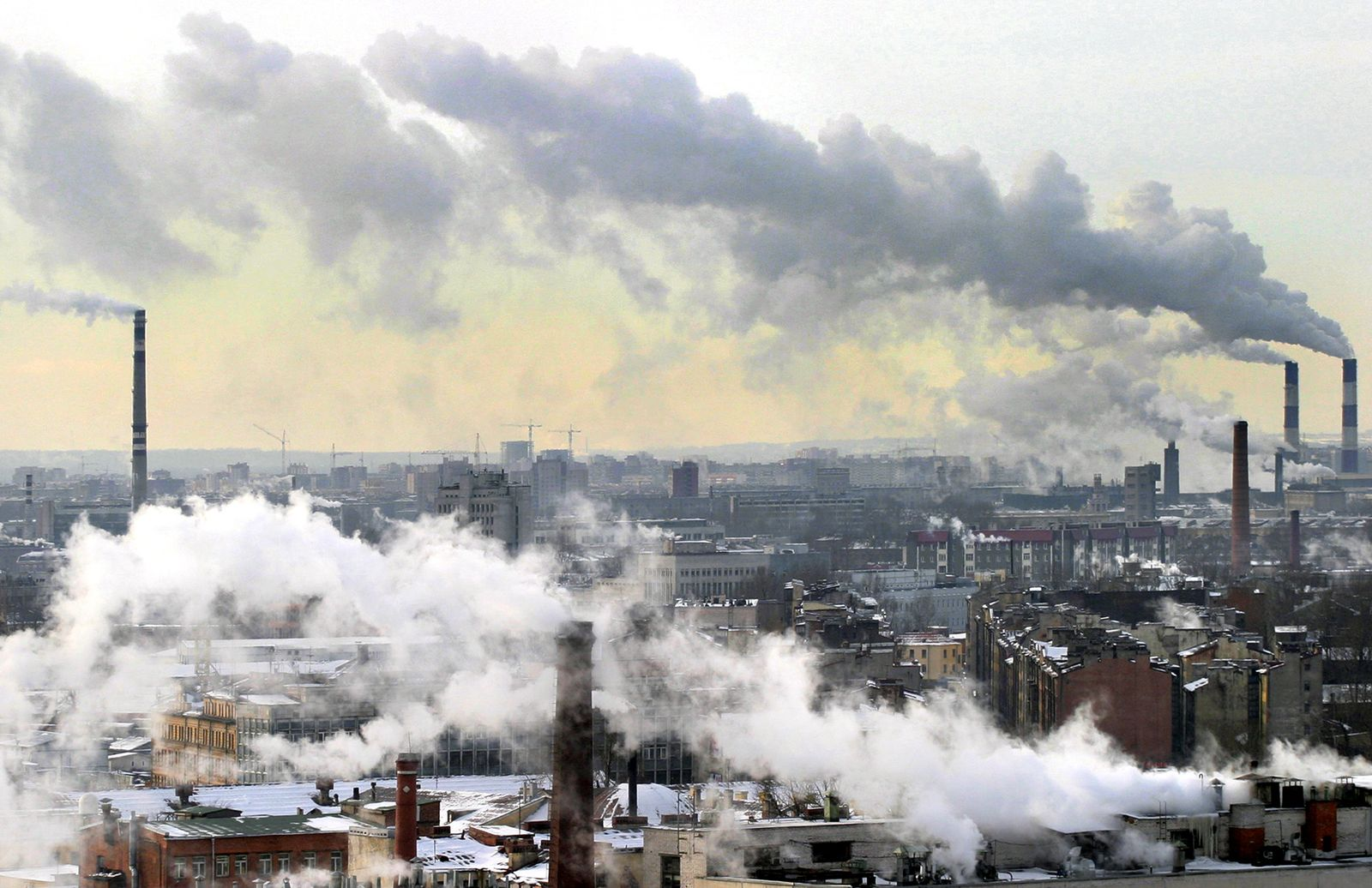 Umwelt / Luftverschmutzung / Emissionen / Abgase / Schornsteine / Rauch / CO2