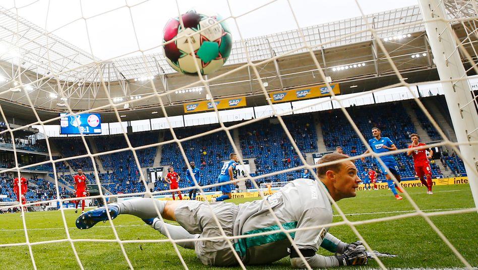 Gleich viermal bezwungen: Bayern-Torwart Manuel Neuer