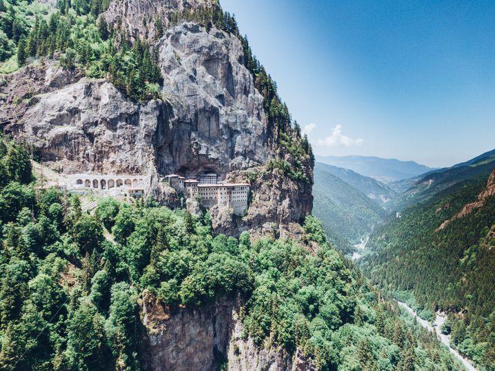 Sumela-Kloster in der Türkei
