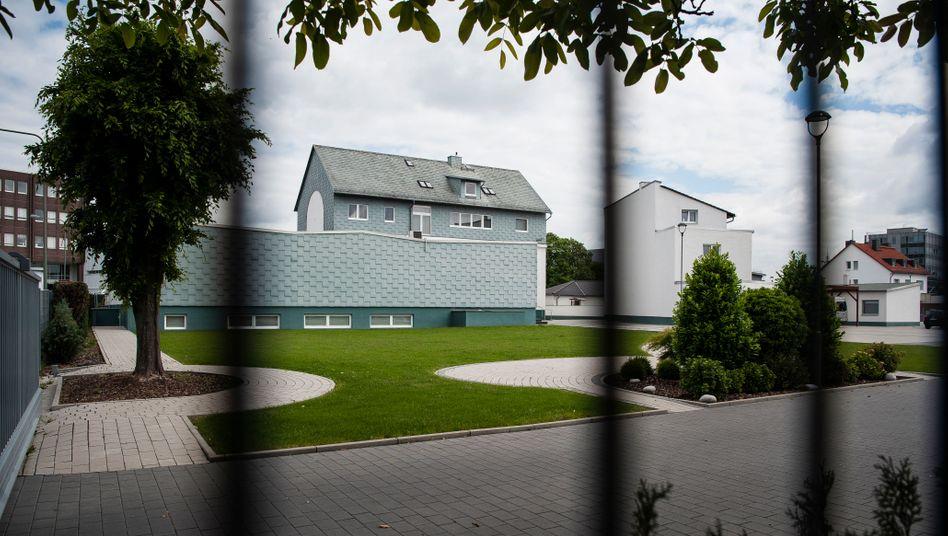 Bethaus einer Baptistengemeinde in Frankfurt: Beim Gottesdienst infizierten sich mehr als Hundert Personen mit dem Coronavirus
