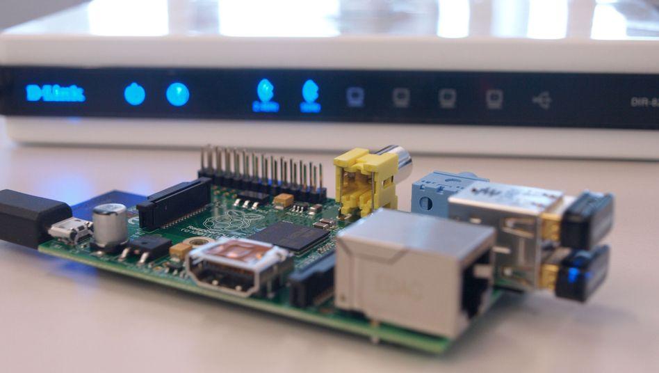 SpOnionPi: Ein Mini-Computer, der über das Tor-Netzwerk den Internetverkehr anonymisiert