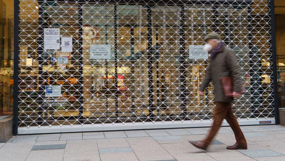 Einkaufsstraße in der Hamburger Innenstadt: Vor allem kleine Betriebe betroffen