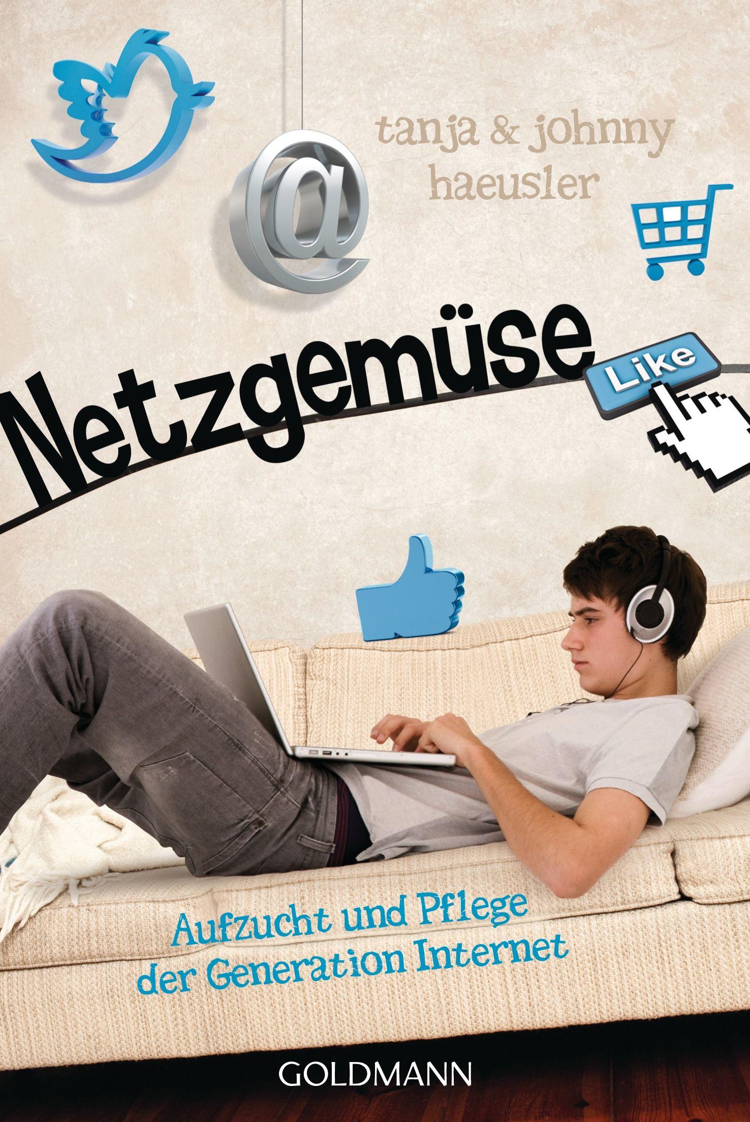 "EINMALIGE VERWENDUNG COVER BUCH Johnny Haeusler ""Netzgemüse"""