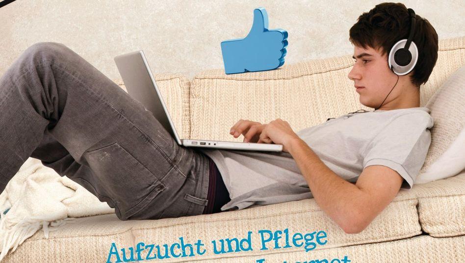 """Buchcover """"Netzgemüse"""": Wegweiser für Eltern"""