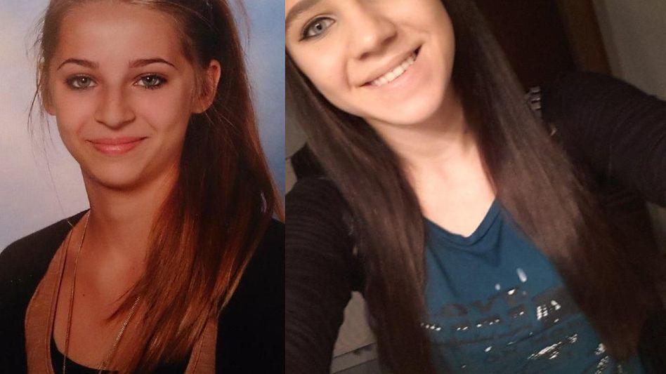 Samra Kesinovic, 16 (links), Sabina Selimovic, 15: Zum Dschihad nach Syrien?