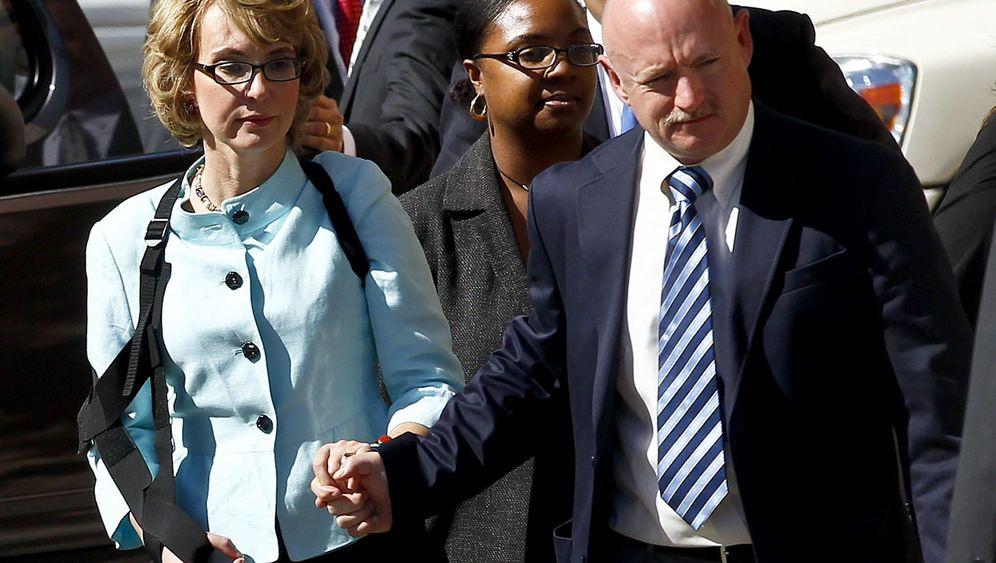 Attentäter verurteilt: Gabrielle Giffords blickt nach vorn