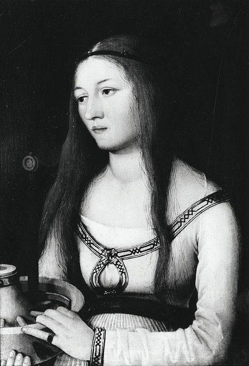 """""""Heilige Katharina"""", Hans Holbein der Ältere"""