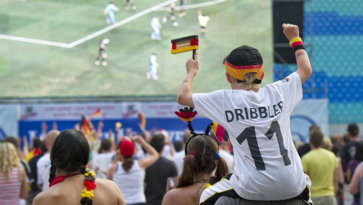 Schwarz-rot-goldener Jubel: So feierten die Fans