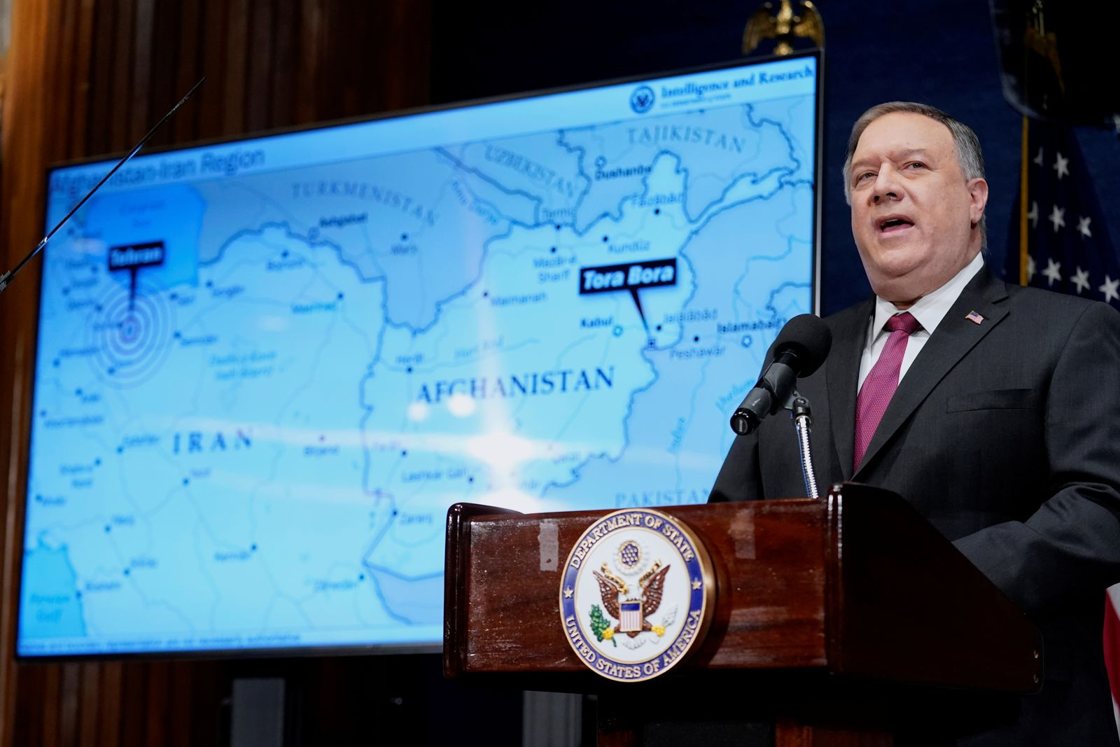 U.S. Secretary of State Pompeo delivers remarks at National Press Club