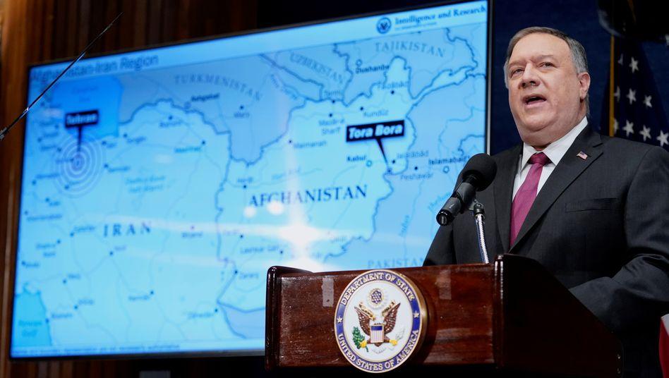 US-Außenminister Pompeo am 12. Januar in Washington: »Iran ist für al-Qaida das neue Afghanistan«