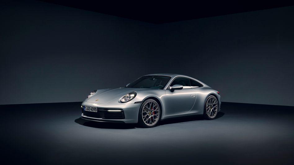 Aktueller Porsche 911