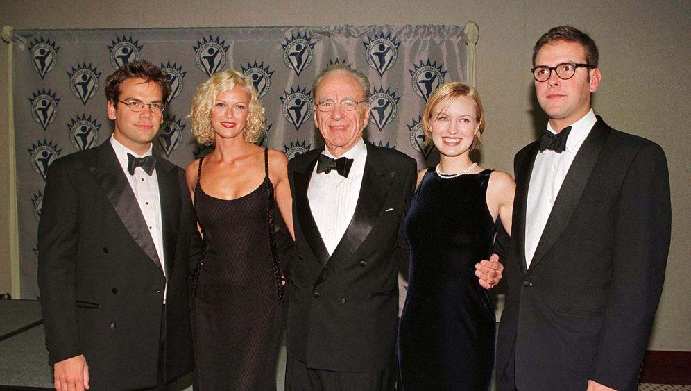 James Murdoch: Kronprinz in Wartestellung