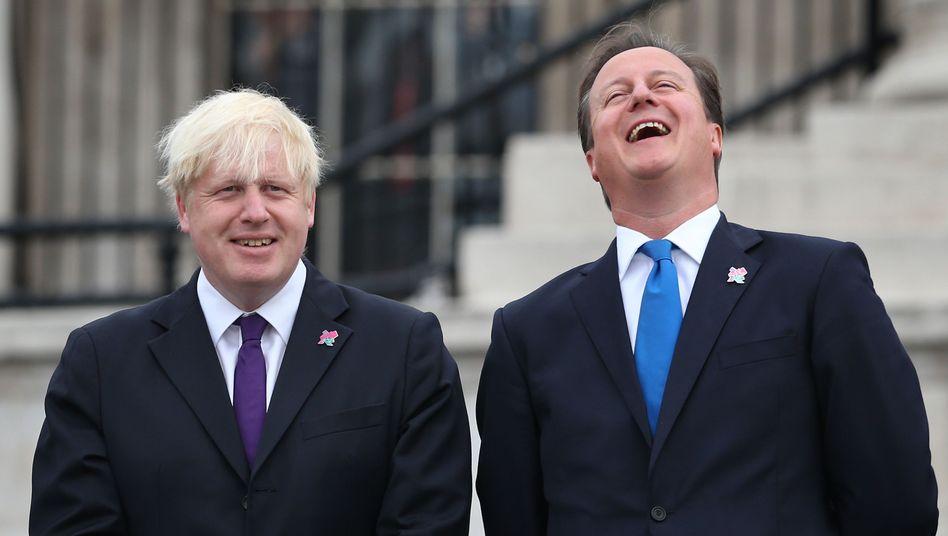 London Mayor Boris Johnson and UK Prime Minister David Cameron were both members of the exclusive Bullingdon Club.