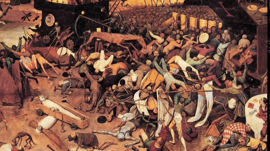 """""""Triumph des Todes"""" heißt das Bild, das der flämische Maler Pieter Bruegel um 1562 schuf"""