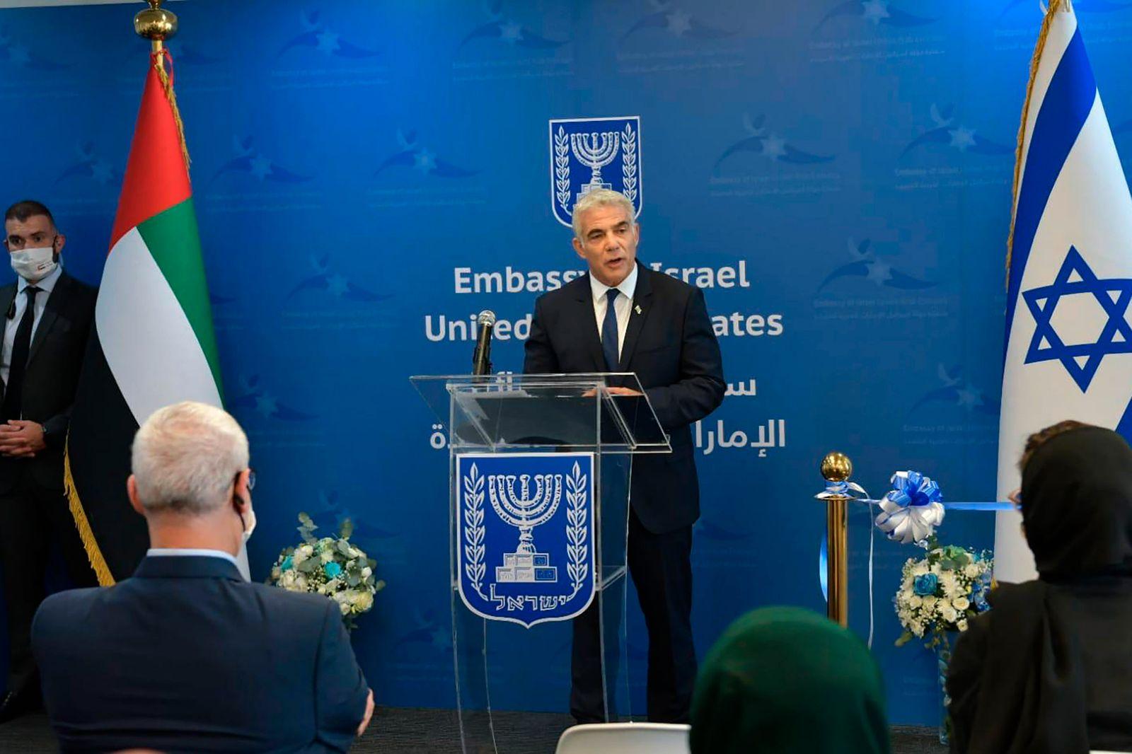 Israelische Botschaft in den Vereinigten Arabischen Emiraten