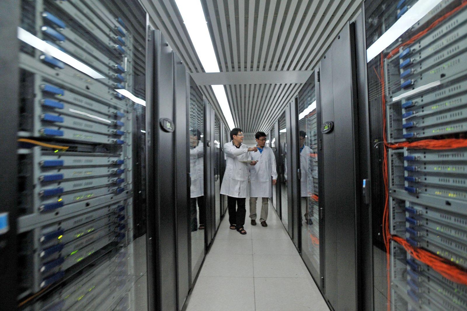 Supercomputer Tinahe 1A