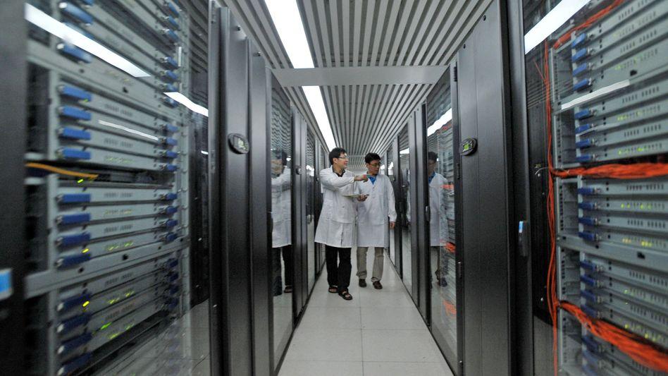 Supercomputer (Archivbild eines Computers aus China): Norwegen investiert in Technik