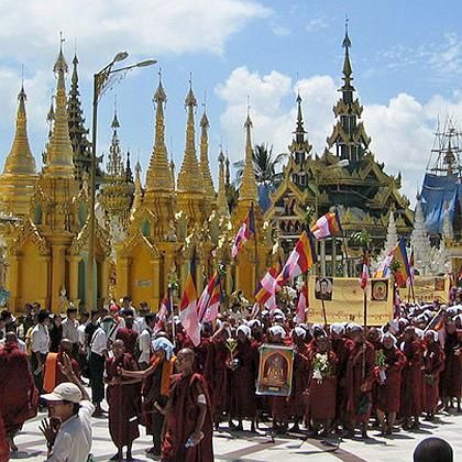 Protesting monks in Burma: Salvation can only come from Beijing