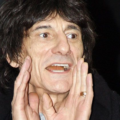 """""""Stones""""-Gitarrist Ronnie Wood: """"Stimmen Sie ab..."""""""