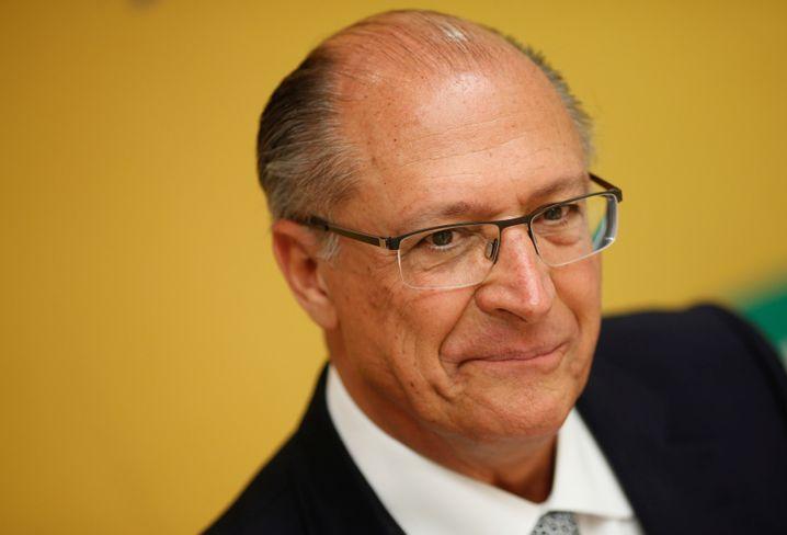 Geraldo Alckmin, Kandidat der wirtschaftsliberalen sozialdemokratischen Partei Partido da Social Democracia Brasileira (PSDB)