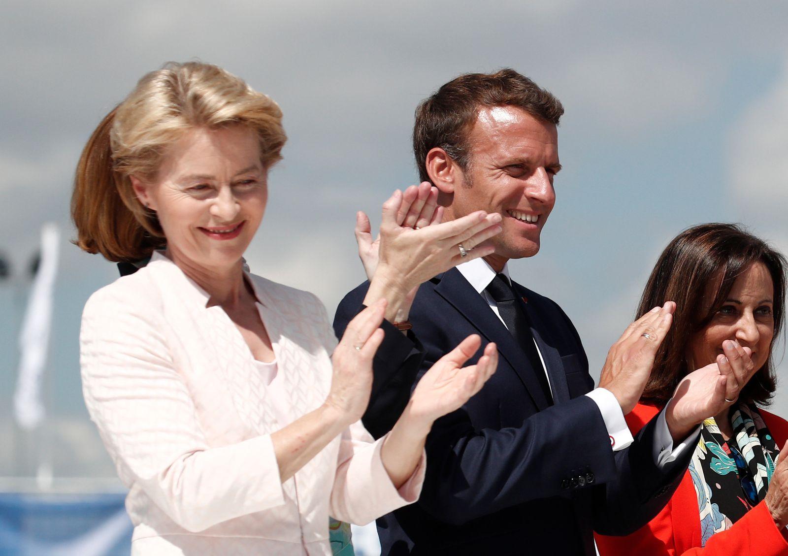 Von der Leyen / Macron