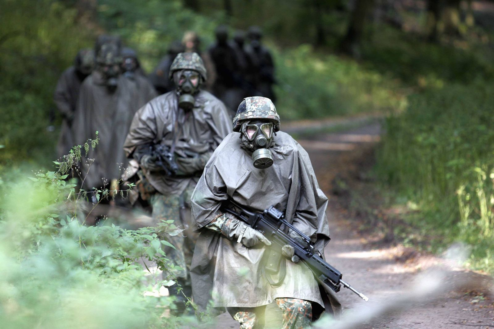 NICHT VERWENDEN Wehrdienst/ Rekruten/ Grundausbildung