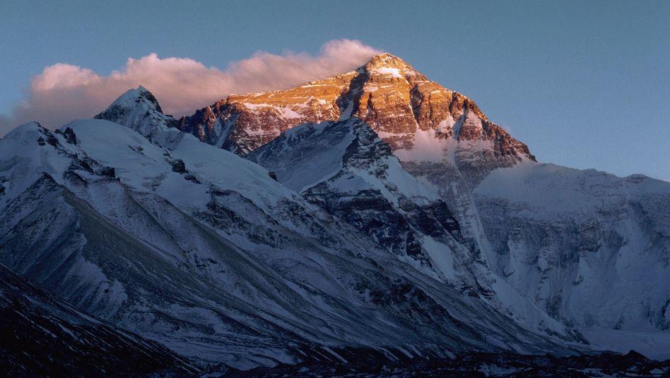 Mount Everest: Ruck zurück