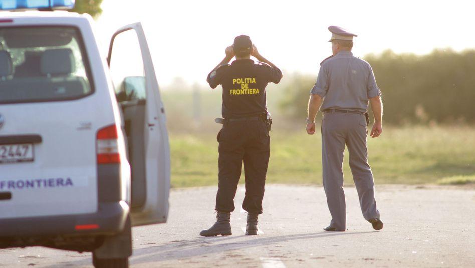 Grenzkontrolle in Rumänien (Archivbild)