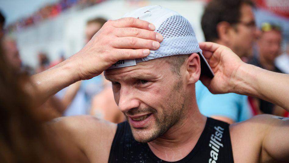 Patrick Lange verlor vor allem beim Schwimmen Zeit auf die Weltspitze