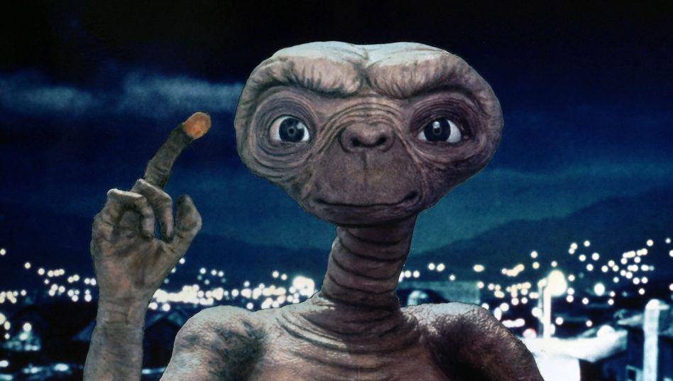 Film-Alien E.T.: »Nach Hause telefonieren«