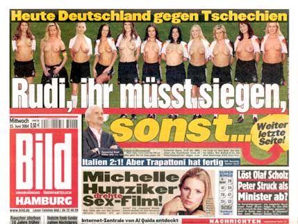 """Seite 1 der """"Bild"""": Der DGB protestiert"""