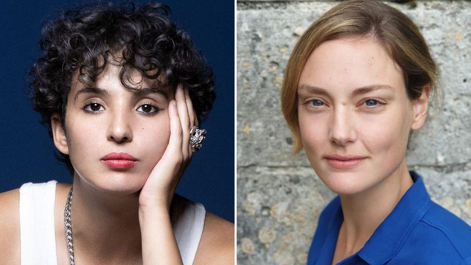 Autorin Fatima Daas (links) und Übersetzerin Sina de Malafosse