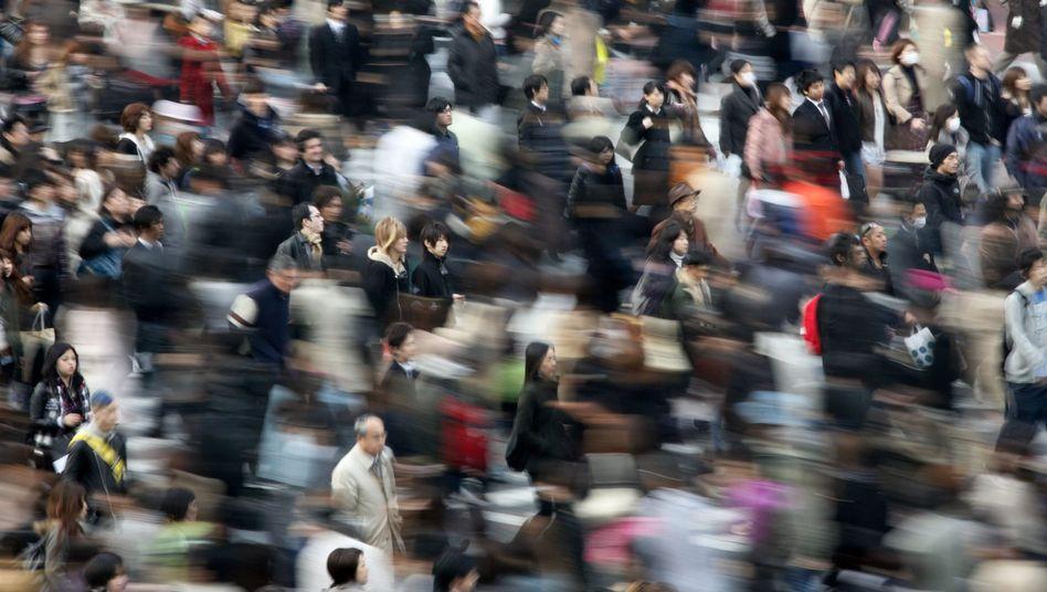 Menschenmassen: Leben in der Stadt verändert anscheinend das Stressempfinden