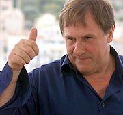 Filmstar Depardieu: Repräsentieren in der Hauptstadt