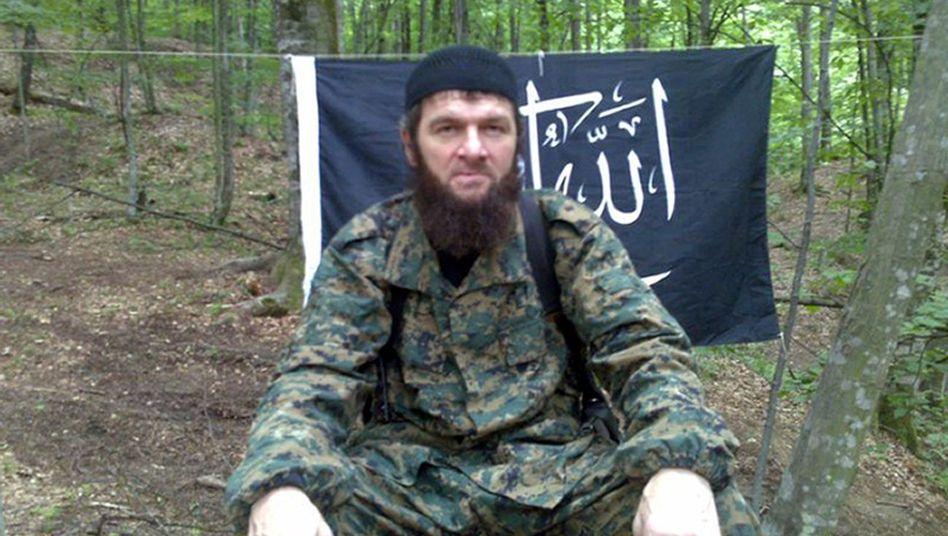 Terroristenanführer Umarow (Archivbild): Nach Angaben einer Webseite ist er offenbar tot