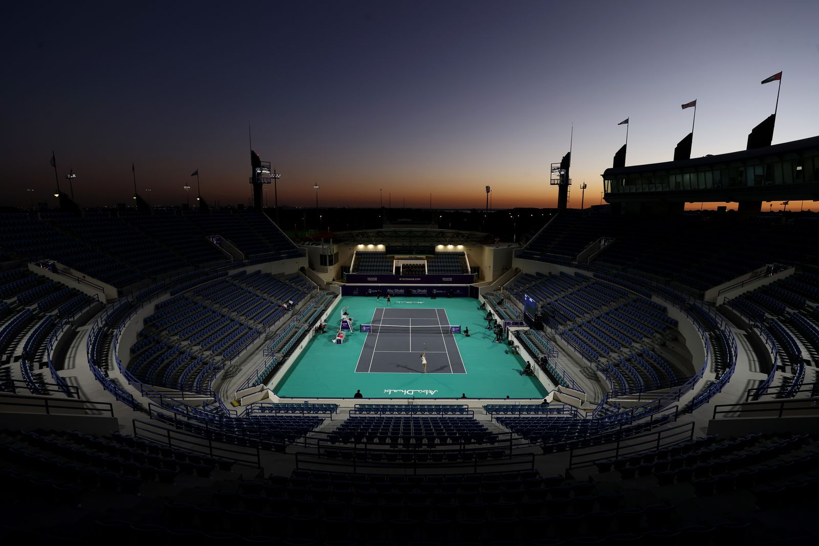 Abu Dhabi WTA Women's Tennis Open - Day Five