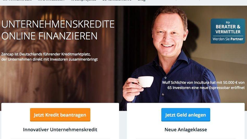 """Zencap-Website: """"Global präsent"""""""