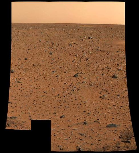 """Mars in Farbe: Das erste hoch auflösende Bild von """"Spirit"""" entzückt die Forscher"""